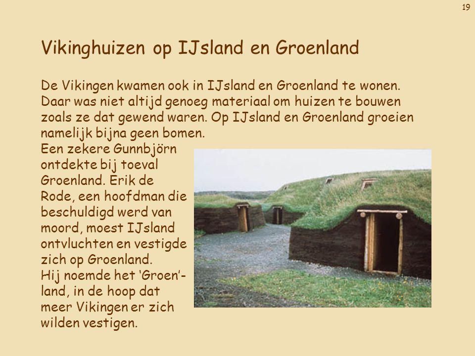 Vikinghuizen op IJsland en Groenland