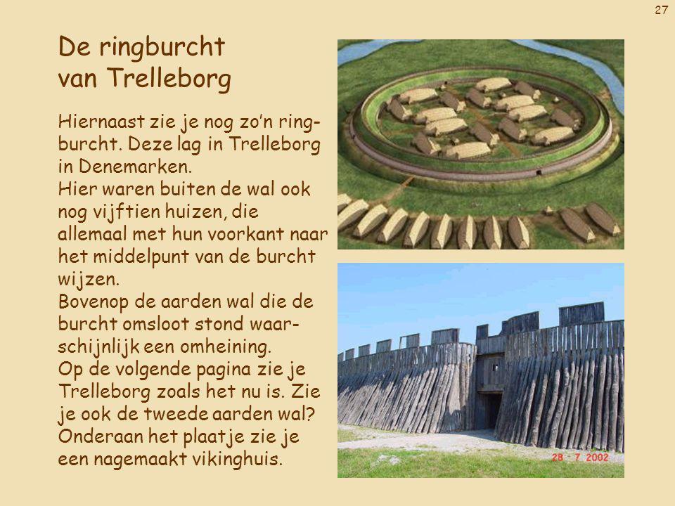 De ringburcht van Trelleborg