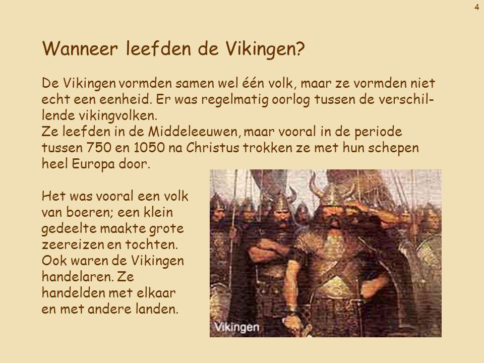 Wanneer leefden de Vikingen