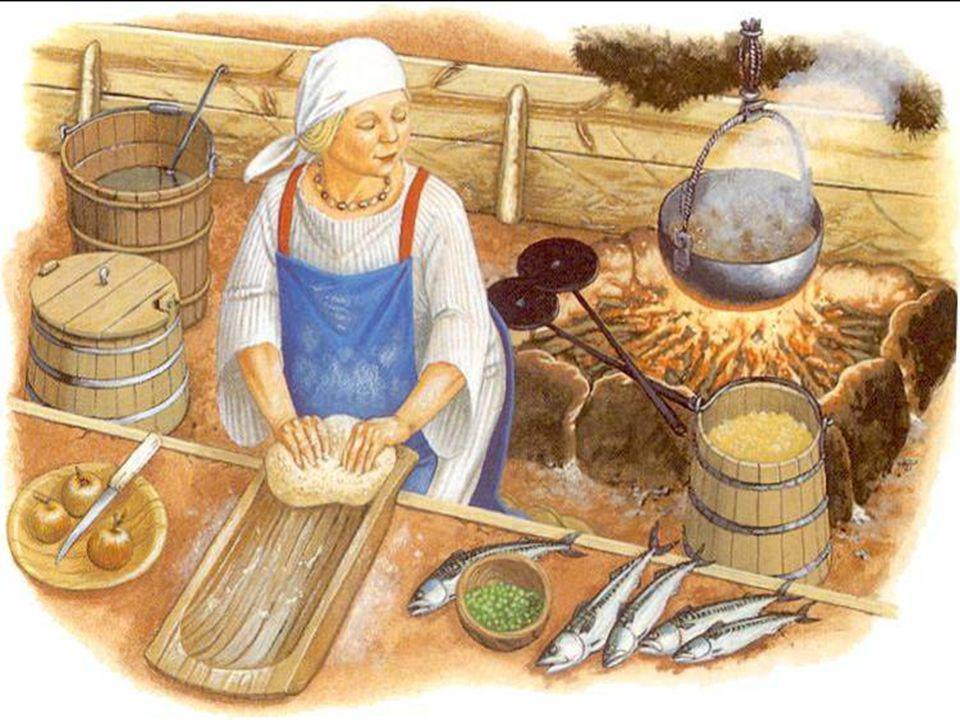 De Vikingen gingen prat op hun gastvrijheid, waarbij een feestmaal hoorde.