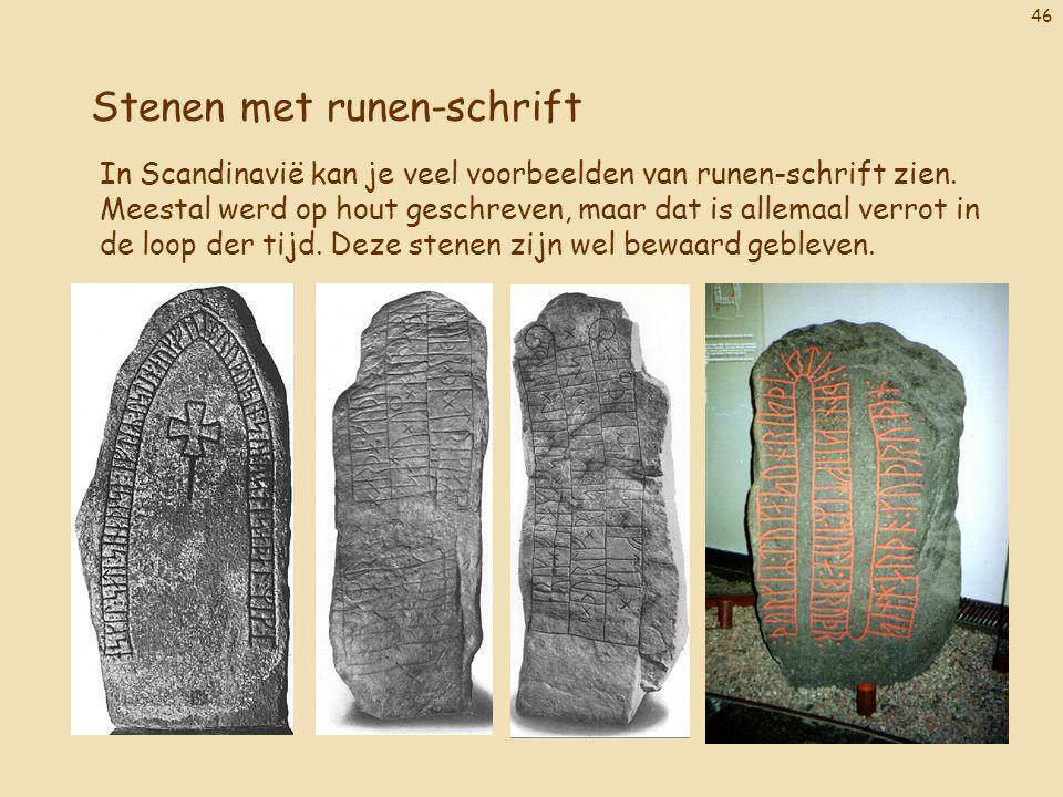 Stenen met runen-schrift