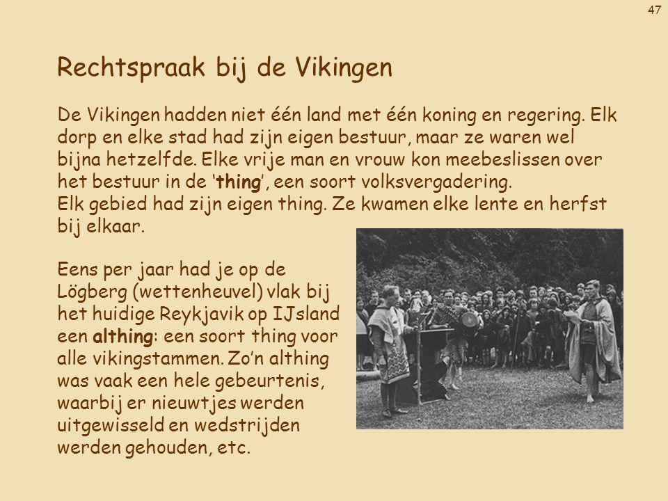 Rechtspraak bij de Vikingen
