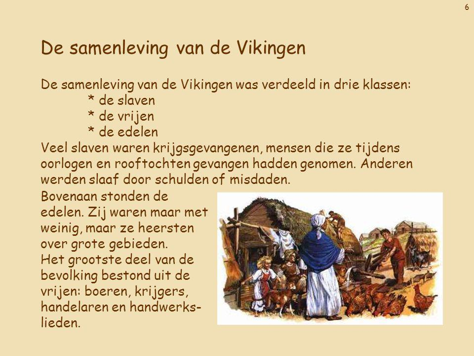 De samenleving van de Vikingen