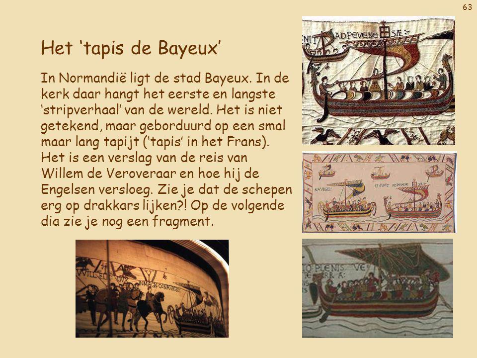 Het 'tapis de Bayeux'