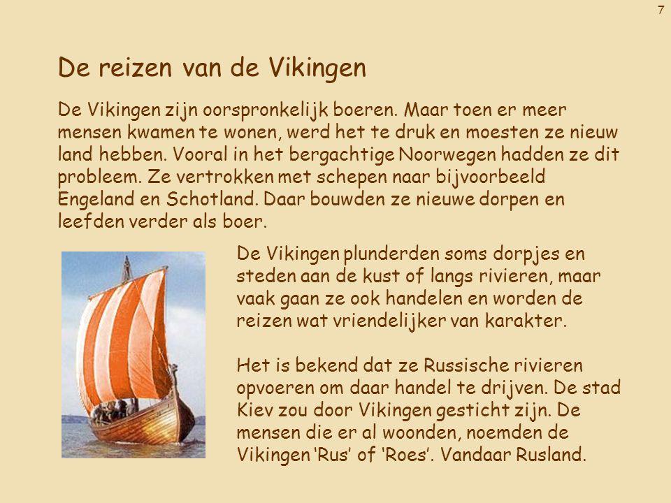 De reizen van de Vikingen