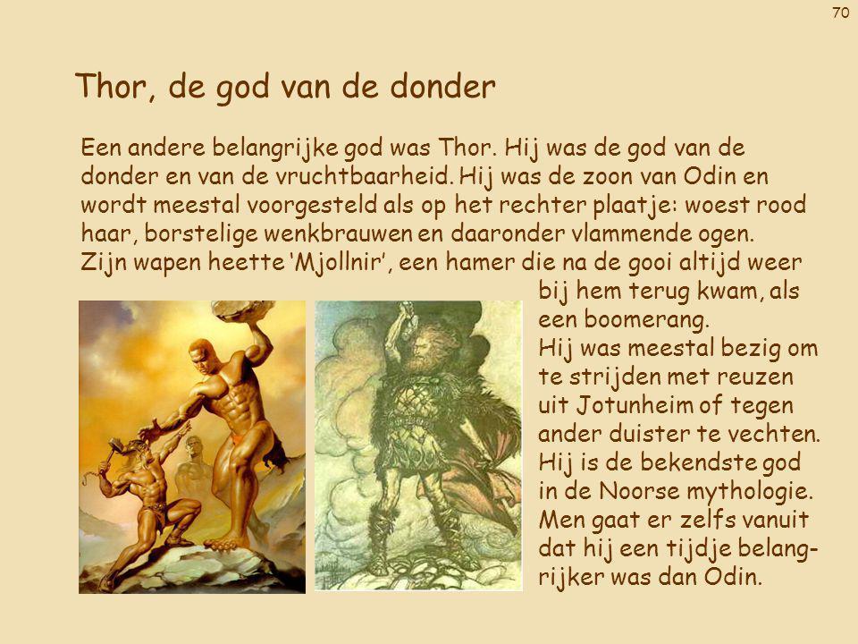 Thor, de god van de donder