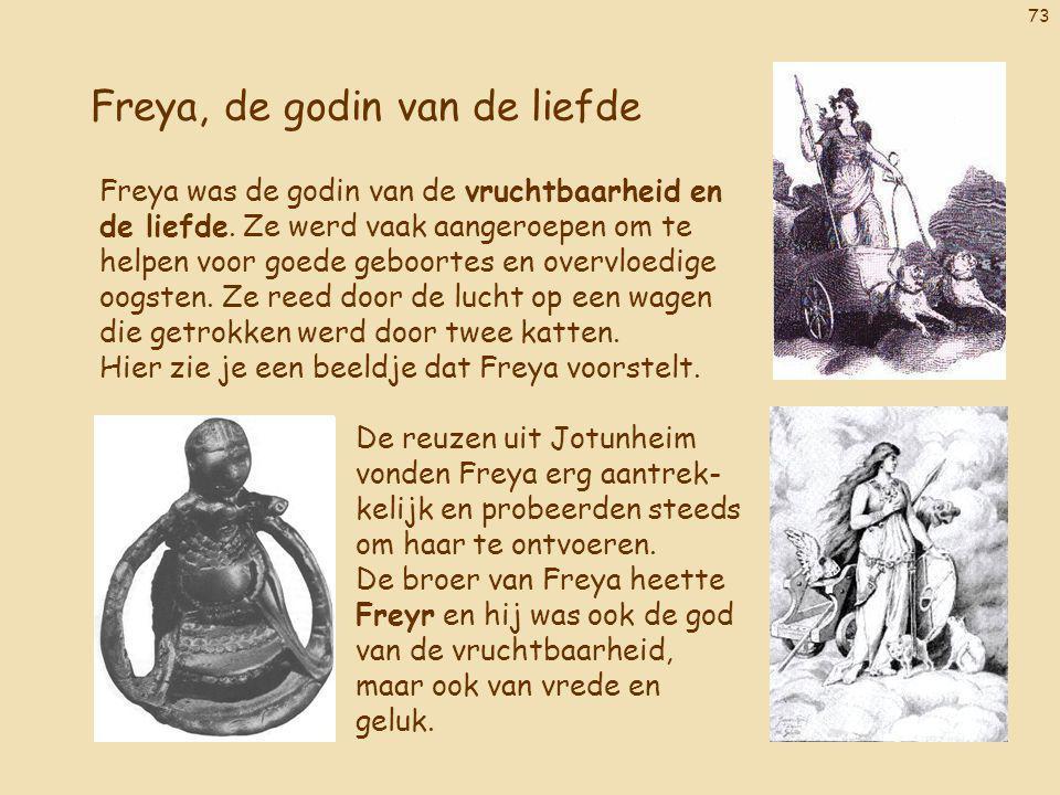 Freya, de godin van de liefde