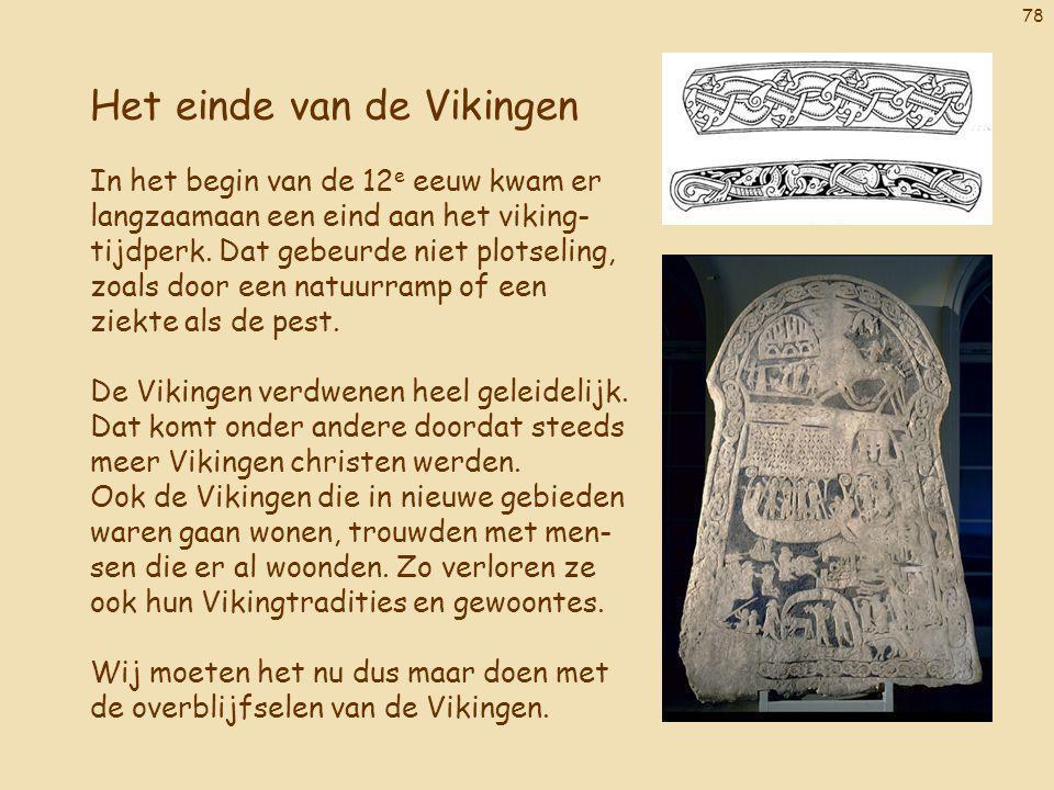 Het einde van de Vikingen