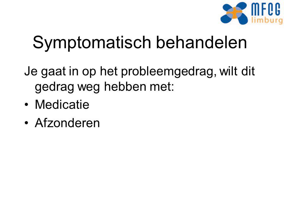 Symptomatisch behandelen