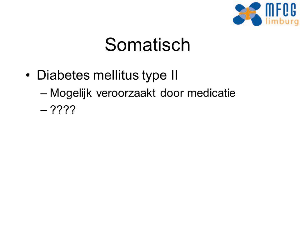 Somatisch Diabetes mellitus type II