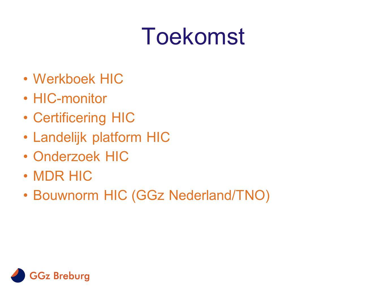 Toekomst Werkboek HIC HIC-monitor Certificering HIC
