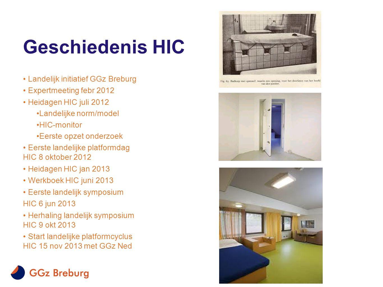 Geschiedenis HIC Landelijk initiatief GGz Breburg