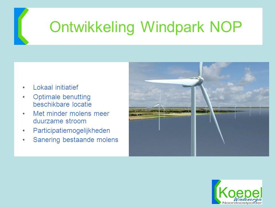 Ontwikkeling Windpark NOP