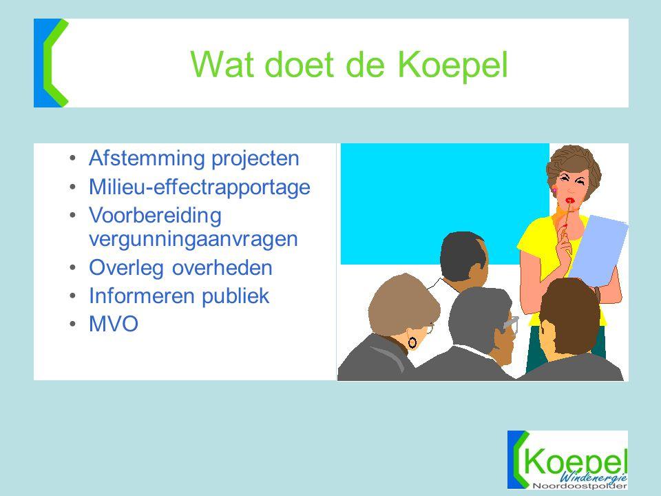 Wat doet de Koepel Afstemming projecten Milieu-effectrapportage