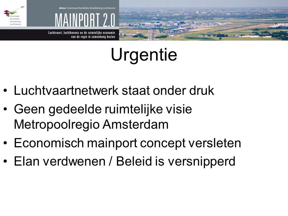Urgentie Luchtvaartnetwerk staat onder druk
