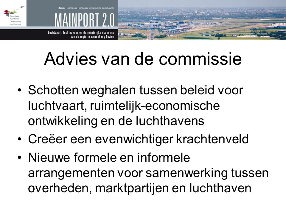 Advies van de commissie