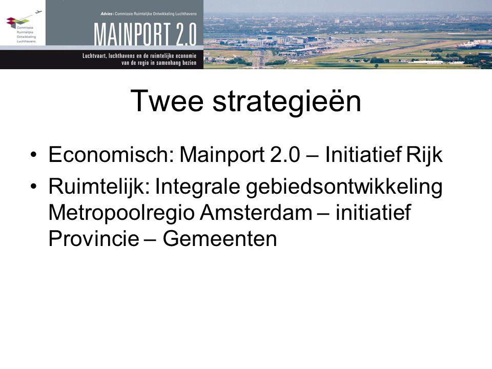 Twee strategieën Economisch: Mainport 2.0 – Initiatief Rijk