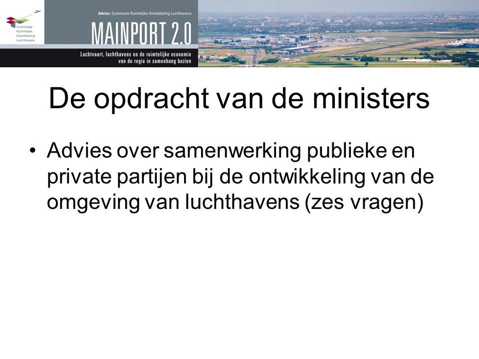 De opdracht van de ministers