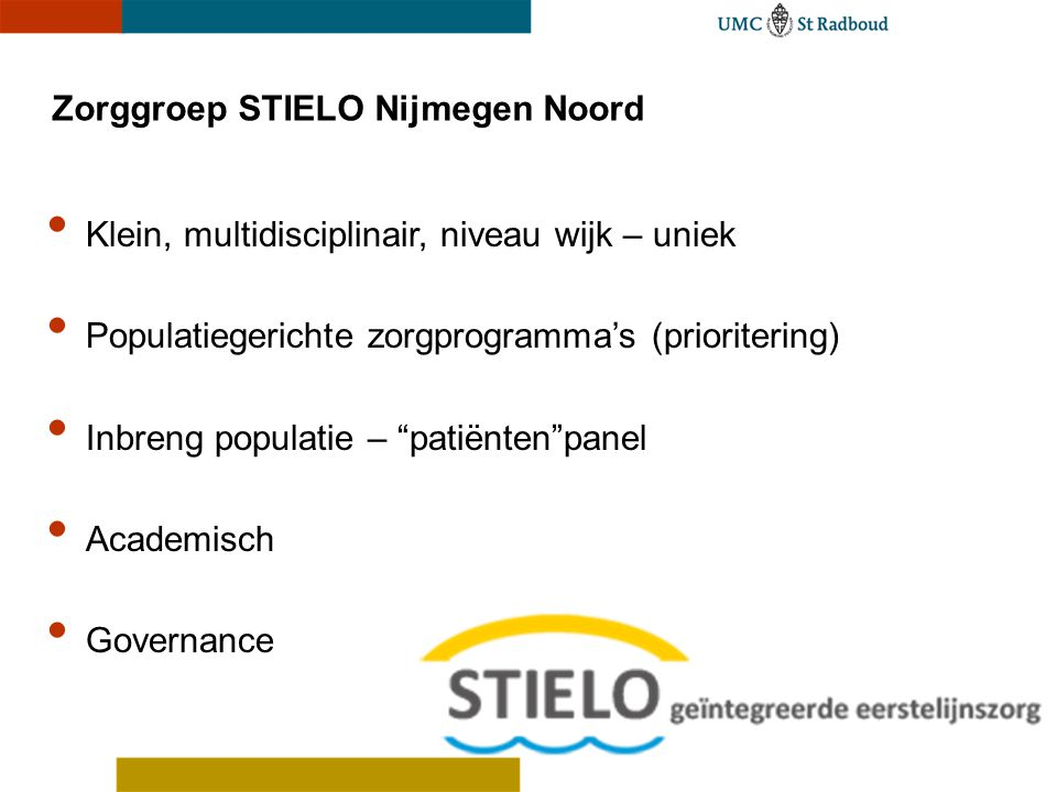 Zorggroep STIELO Nijmegen Noord