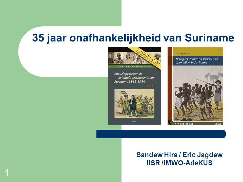 Sandew Hira / Eric Jagdew IISR /IMWO-AdeKUS
