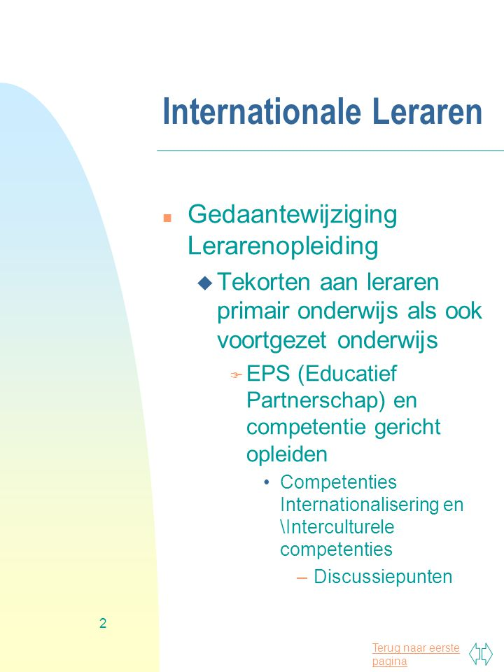 Internationale Leraren
