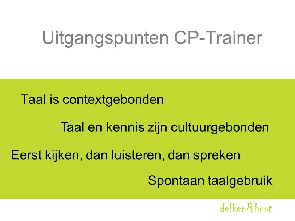 Uitgangspunten CP-Trainer