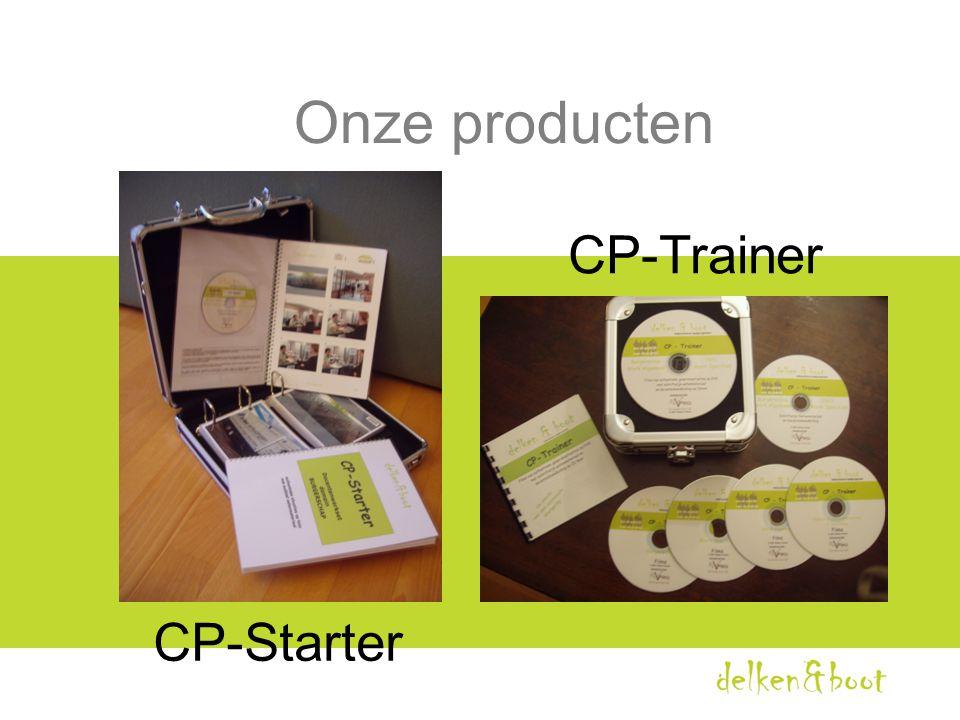 Onze producten CP-Trainer CP-Starter