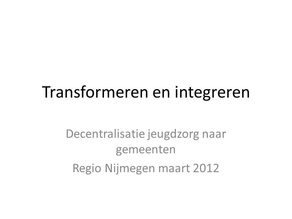 Transformeren en integreren