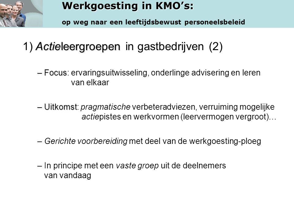 1) Actieleergroepen in gastbedrijven (2)
