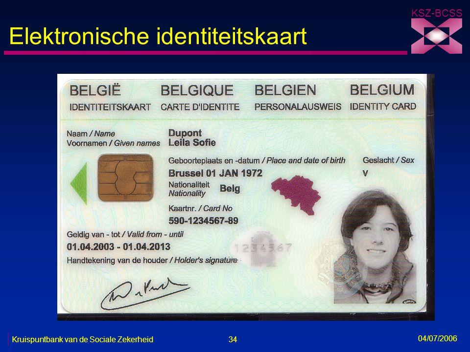 Elektronische identiteitskaart