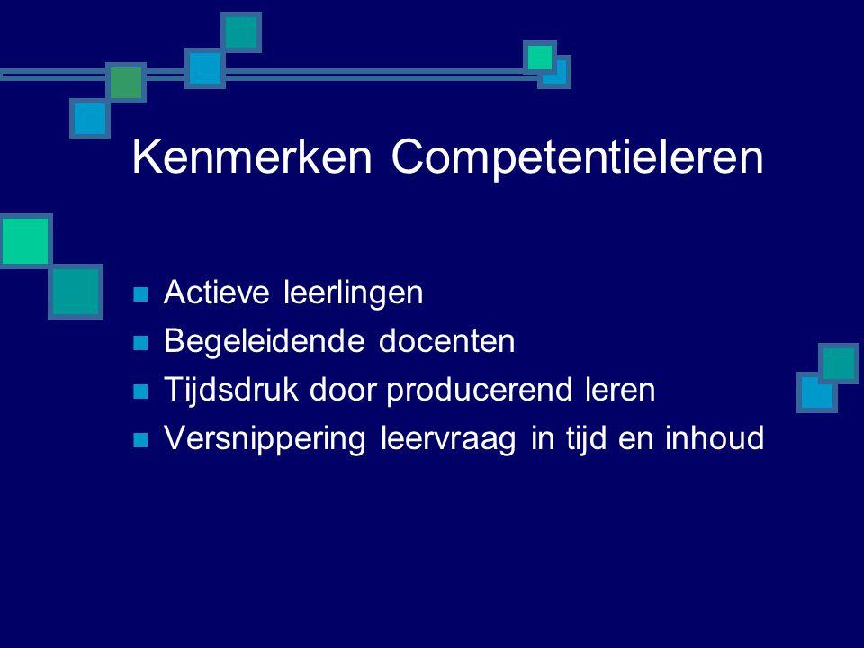 Kenmerken Competentieleren