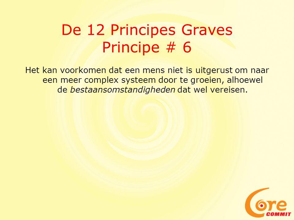 De 12 Principes Graves Principe # 6