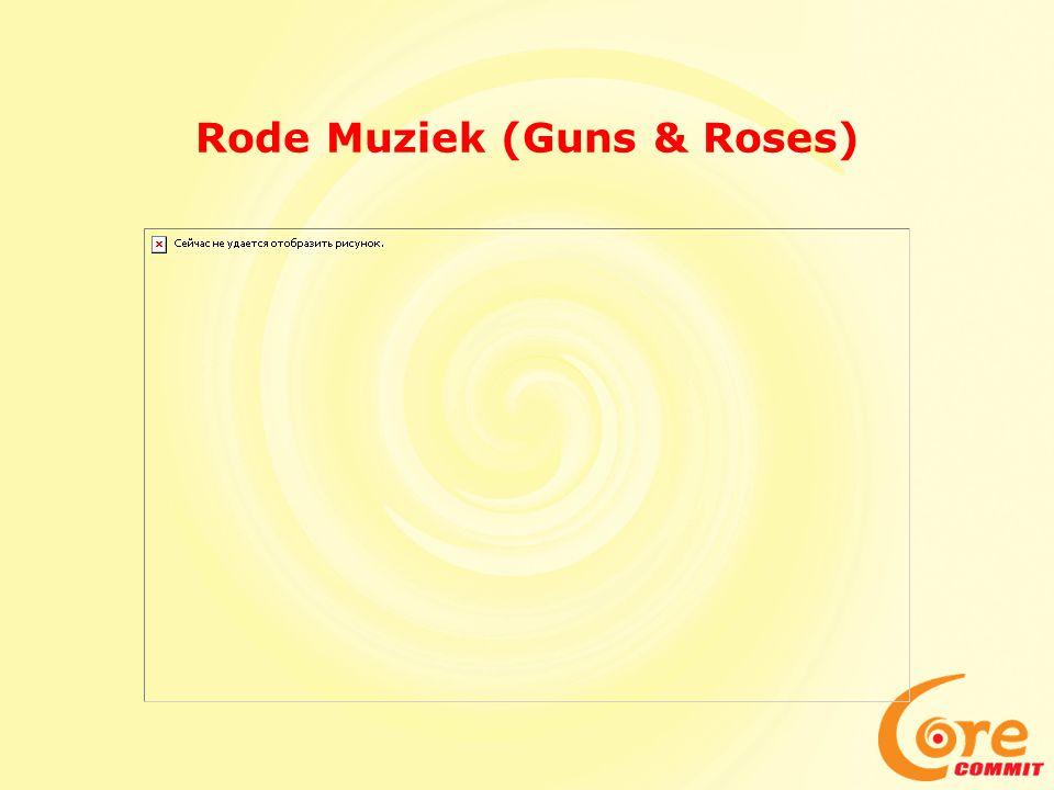 Rode Muziek (Guns & Roses)