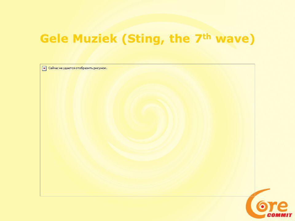 Gele Muziek (Sting, the 7th wave)