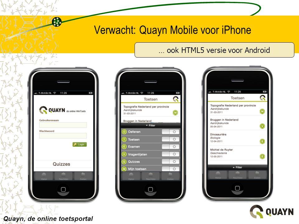Verwacht: Quayn Mobile voor iPhone