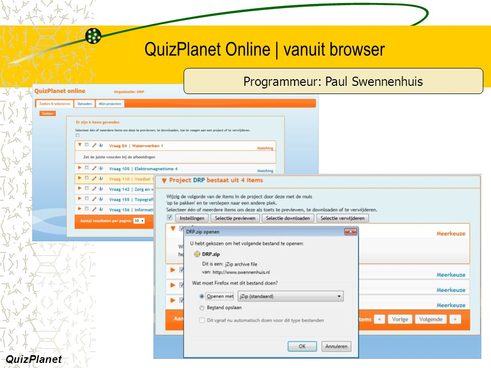 QuizPlanet Online | vanuit browser