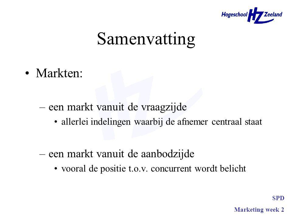 Samenvatting Markten: een markt vanuit de vraagzijde