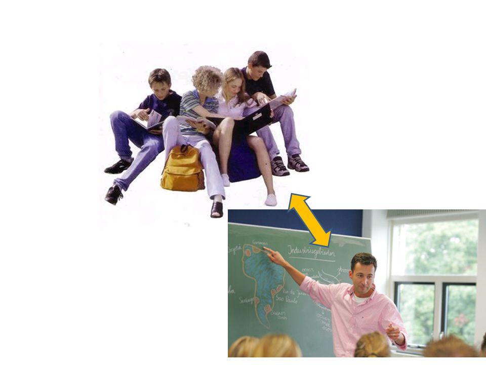 Daarvoor moet de leraar relatie leggen met de leerlingen en daardoor tussen de leerlingen en zijn vak.
