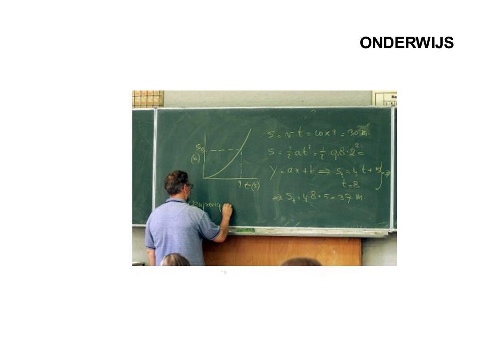 ONDERWIJS Ook in het onderwijs kunnen de leerlingen verdwijnen, achter de rug van de docent.