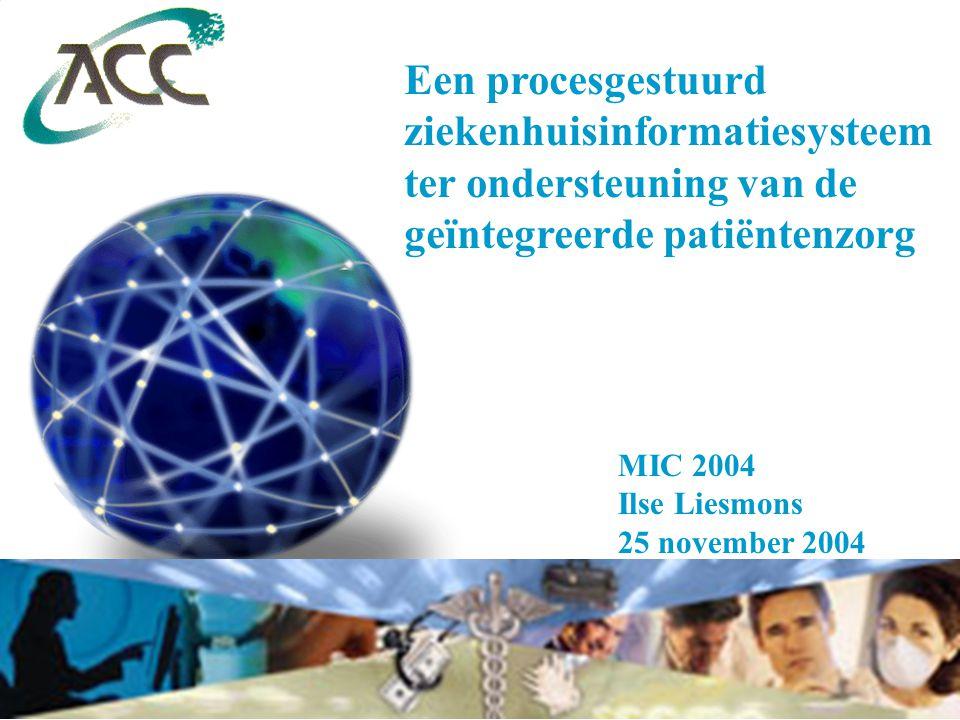 ziekenhuisinformatiesysteem ter ondersteuning van de
