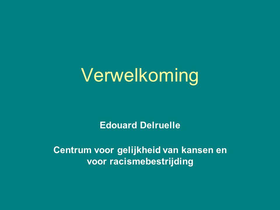 Centrum voor gelijkheid van kansen en voor racismebestrijding