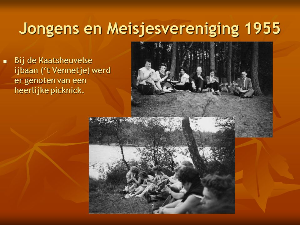 Jongens en Meisjesvereniging 1955