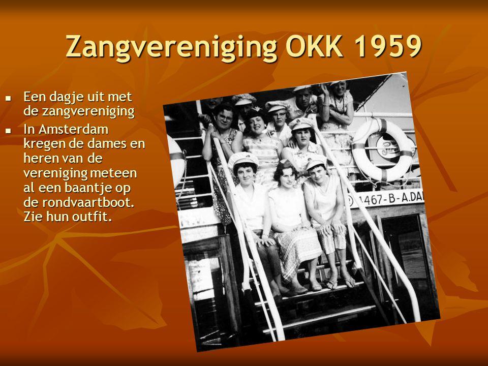 Zangvereniging OKK 1959 Een dagje uit met de zangvereniging