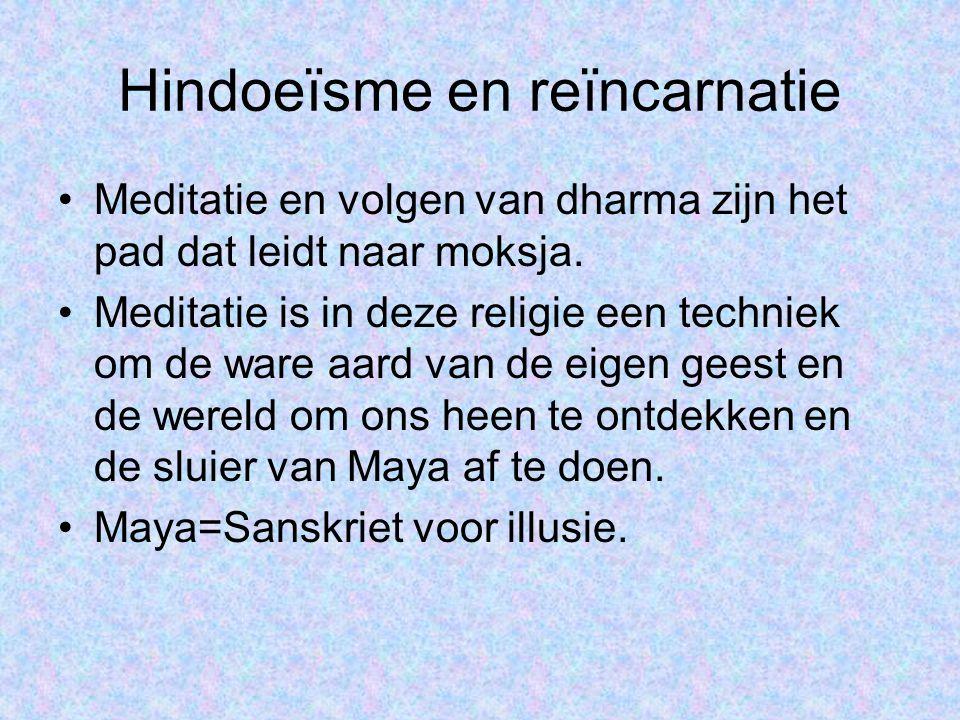 Hindoeïsme en reïncarnatie