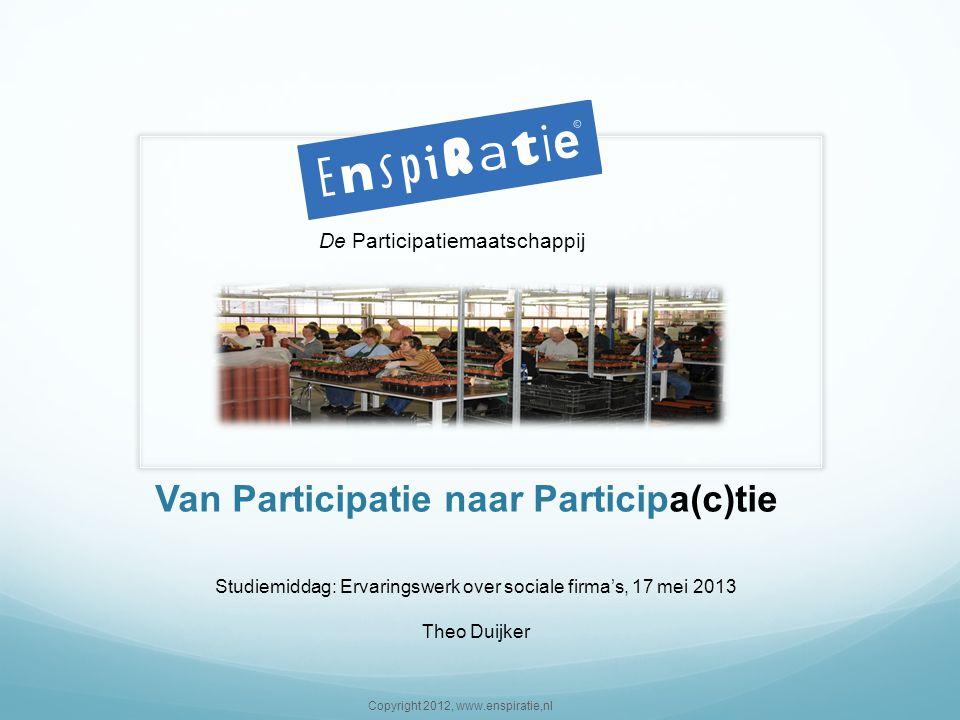 Van Participatie naar Participa(c)tie
