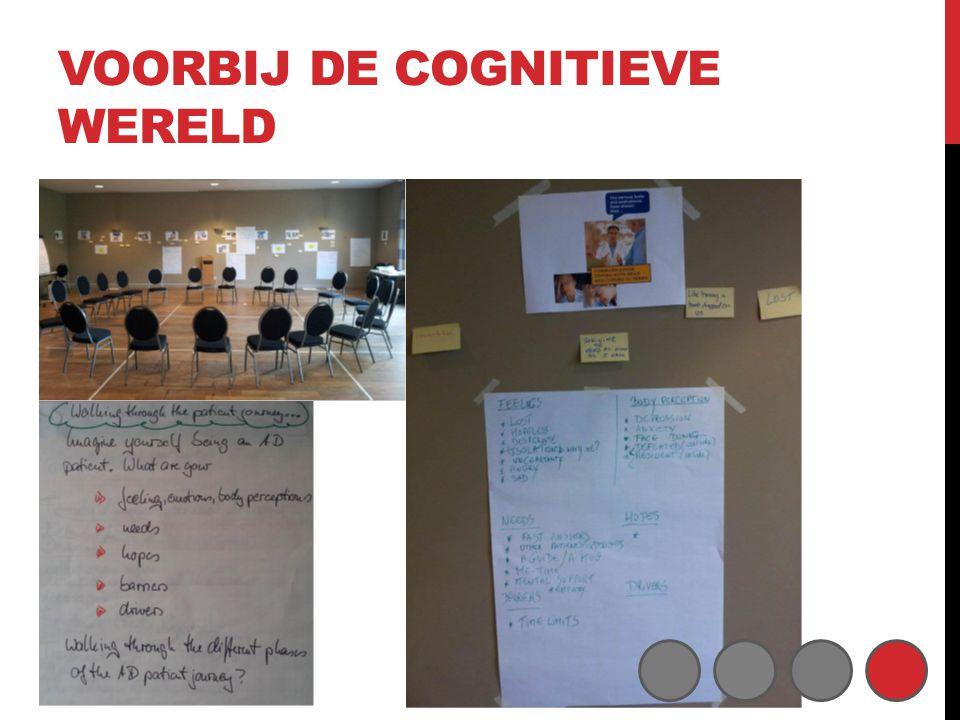 Voorbij de cognitieve wereld