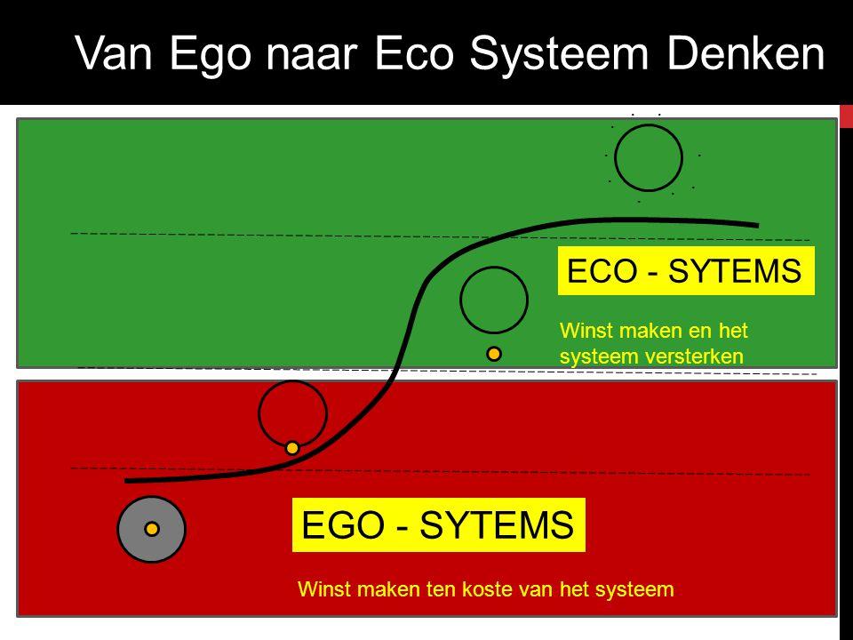Van Ego naar Eco Systeem Denken