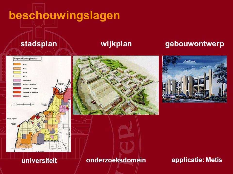beschouwingslagen stadsplan wijkplan gebouwontwerp universiteit
