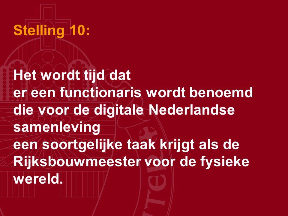 Stelling 10: