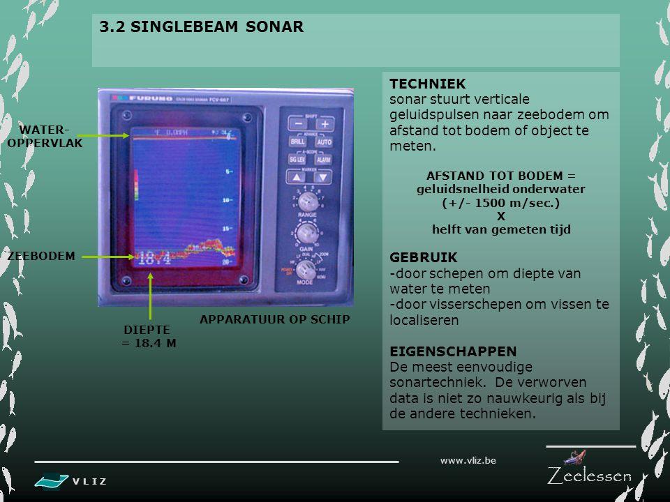 geluidsnelheid onderwater